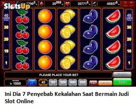 Ini Dia 7 Penyebab Kekalahan Saat Bermain Judi Slot Online Levisbet Situs Judi Slot Online Terpercaya